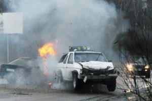 firey-crash