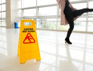 back injuries due to a slip and fall accident Pittsburgh, PA