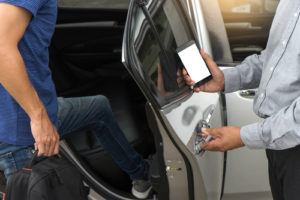 what to do after a car accident involving Uber Pittsburgh, PA